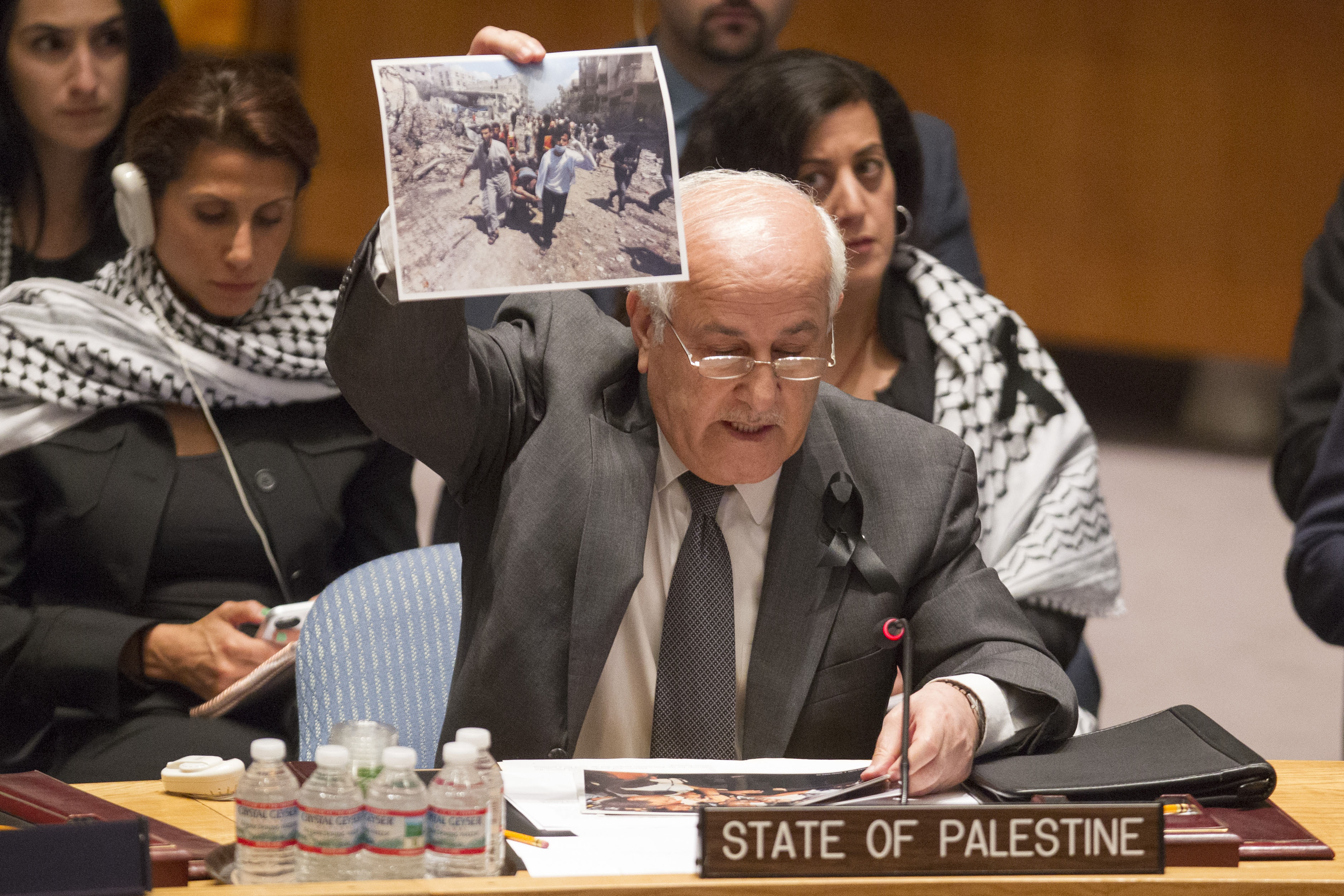 Statement by Ambassador Dr. Riyad Mansour before the United Nations Security Council Open Debate on the Situation in the Middle East, including the Palestine Question, 22 July 2014