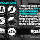 7 June 2016 – 49 Years of Occupation
