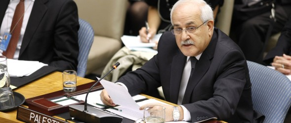 Statement by Ambassador Dr. Riyad Mansour, before the United Nations Security Council, Open Debate on the Situation in the Middle East, including the Palestine Question on 24 April 2013