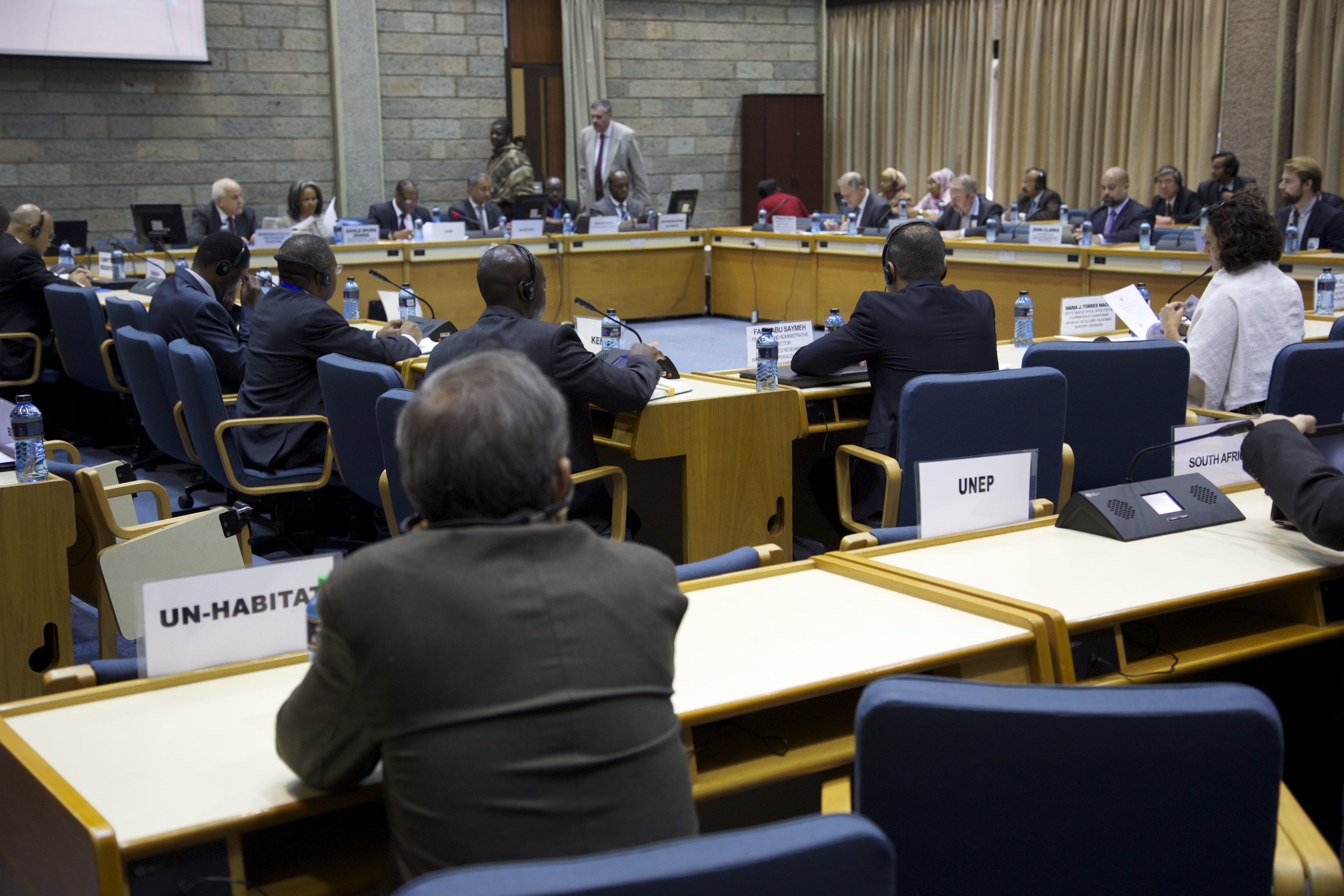 UNITED NATIONS SEMINAR ON ASSISTANCE TO PALESTINIAN PEOPLE IN NAIROBI